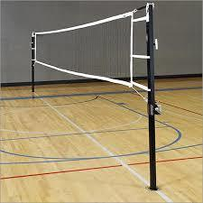 Fixed Volleyball Pole