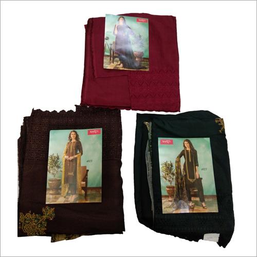 Ladies Cotton  Semi Stitched Salwar Suit