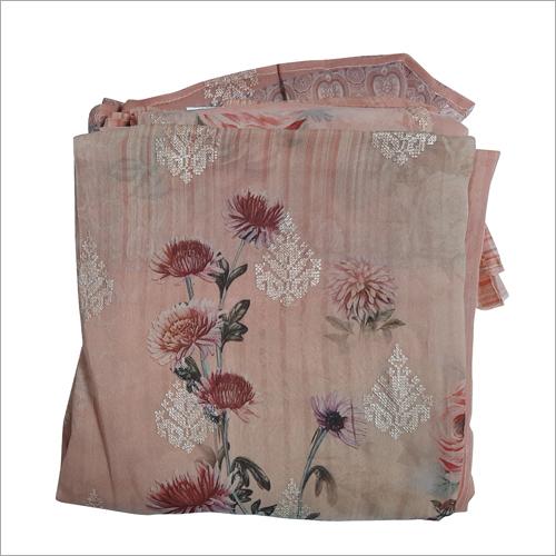 Unstitched Designer Cotton Salwar Suit