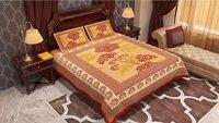 Jaipur Print Tree Design Bedsheet