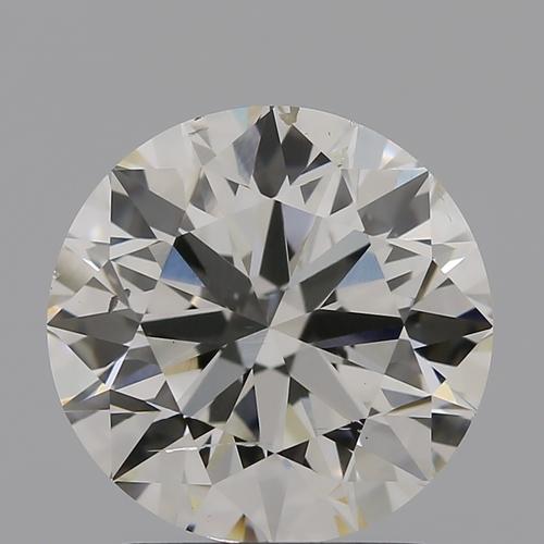 CVD Diamond 2.00ct I SI2 Round Brilliant Cut IGI Certified Stone