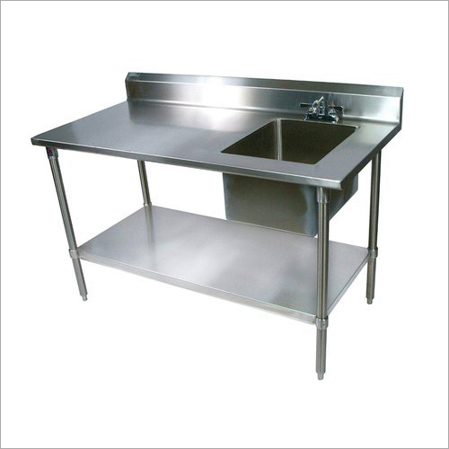 SS 202 And 304 Sink Table