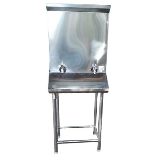 Stainless Steel Double Tap Water Cooler