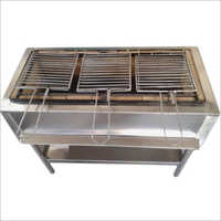 Stainless Steel Charcoal Barbeque Grill