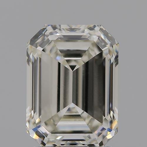 CVD Diamond 2.08ct I VVS2 Emerald Shape IGI Certified Stone