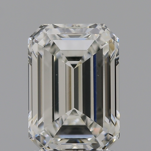 CVD Diamond 2.04ct H VVS2 Emerald Shape IGI Certified Stone