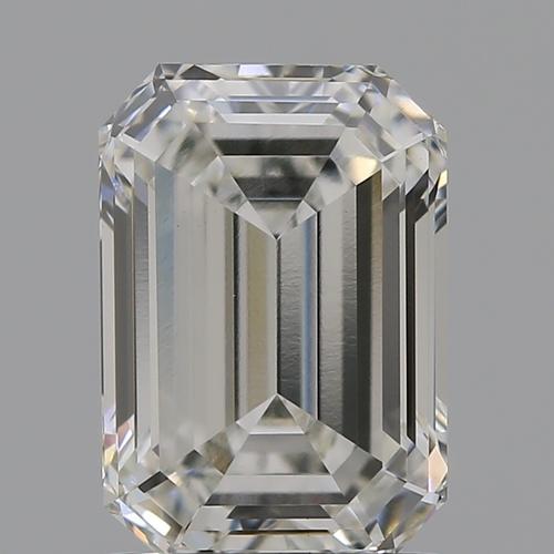 CVD Diamond 1.52ct H VVS2 Emerald Shape IGI Certified Stone