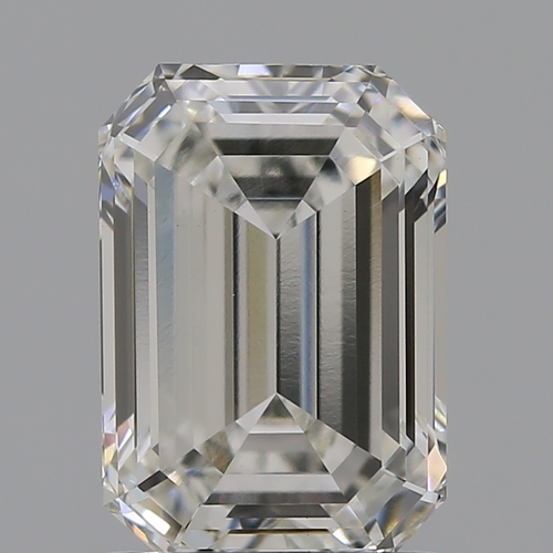 CVD Diamond 1.52ct H VVS2 Emerald Shape IGI Certified Stone