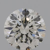 CVD Diamond 2.20ct H VVS2 Round Brilliant Cut IGI Certified Stone