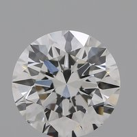 CVD Diamond 1.64ct F VVS2 Round Brilliant Cut IGI Certified Stone