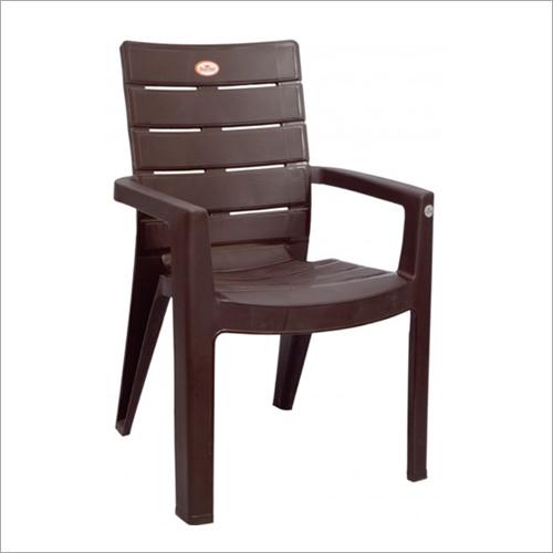 Dark Brown Plastic Chair