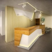 Reception desk for office