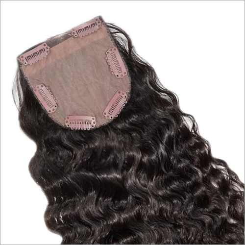 Curly Clip On Top Closure Hair