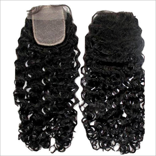 Curly Swiss Lace Hair Closure