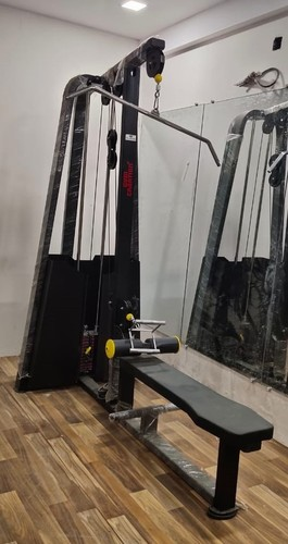 Lat Pull Down With Rowing