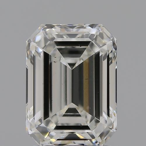CVD Diamond 2.04ct H VS2 Emerald Shape IGI Certified Stone