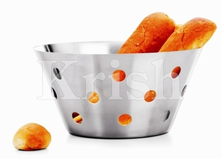 Deep Bread Basket With Round Cutting