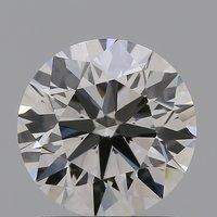 CVD Diamond 1.29ct I VS1 Round Brilliant Cut IGI Certified Stone