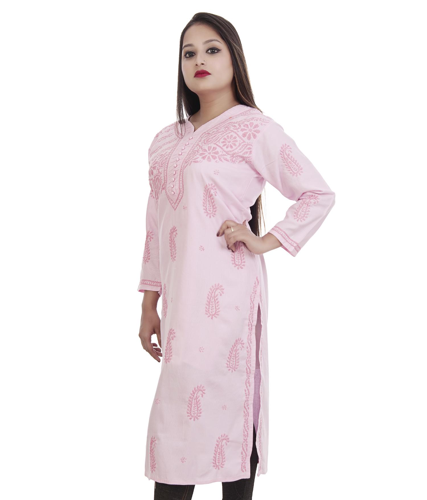 Lucknowi Chikan Kurti