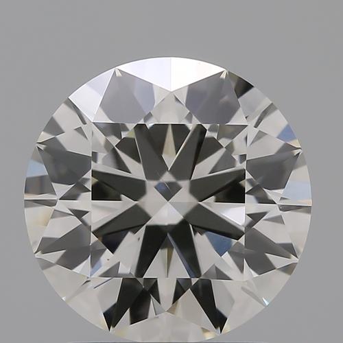 CVD Diamond 1.69ct J VS2 Round Brilliant Cut IGI Certified Stone