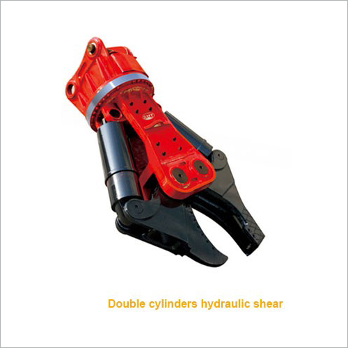 Double Cylinder Hydraulic Shear