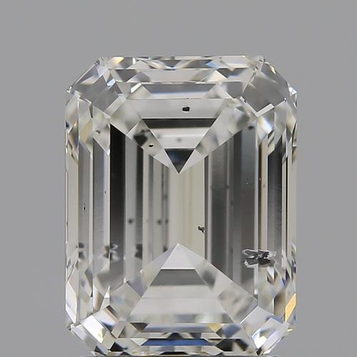 CVD Diamond 2.04ct G SI2 Emerald Shape IGI Certified Stone