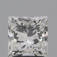 CVD Diamond 2.02ct G VS2 Princess Cut IGI Certified Stone