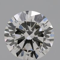 CVD Diamond 2.00ct H VS2 Round Brilliant Cut IGI Certified Stone