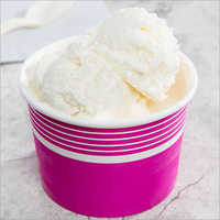 Vanilla Cup Ice Cream