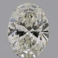 CVD Diamond 1.63ct J VS1 Oval Cut IGI Certified Stone