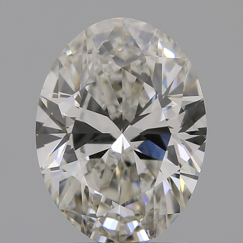 CVD Diamond 1.64ct I VS1 Oval Cut IGI Certified Stone
