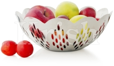 Tango Fruit Bowl with Leaves Cutting