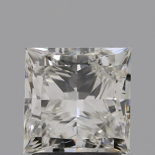 CVD Diamond 2.01ct H VVS2 Princess Cut IGI Certified Stone