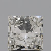 CVD Diamond 2.01ct H VVS2 Princess Cut IGI Certified Stone
