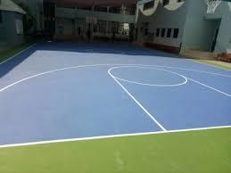 Basketball Court Flooring - acrylic