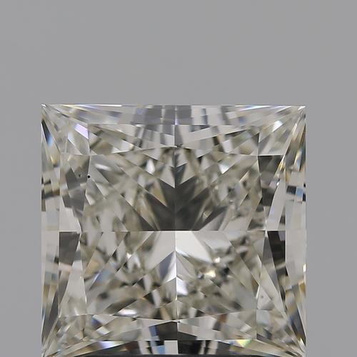 CVD Diamond 3.02ct J VS2 Princess Cut IGI Certified Stone