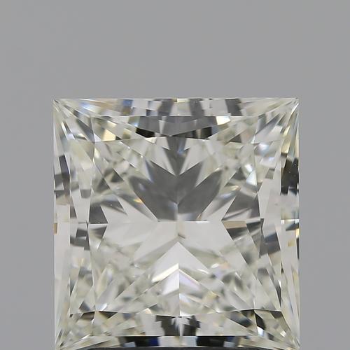 CVD Diamond 3.04ct I VVS2 Princess Cut IGI Certified Stone