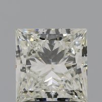 CVD Diamond 3.04ct I VVS2 Princess Cut IGI Certified Stone