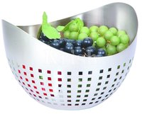 Boat Shape Fruit Bowl With Square cutting