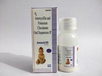 AMOXYCILLIN 200 MG  CLAVULANIC 28.50 MG (AMOXICIL-KID DRY SYP)