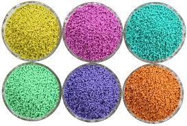 Coloured Pp Granules