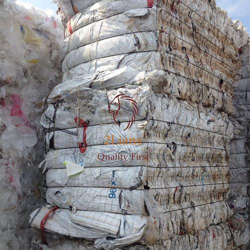 PP Jumbo Bags Grade C Waste Recycled Plastic PP Woven Scrap PP Bag