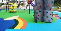 Children Play Area Rubber Flooring - EPDM