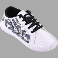 Mens PU Casual Sneakers