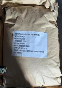 DL-Tartaric Acid Anhydrous Food Grade Best seller