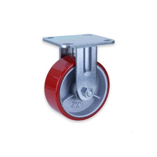 Spring Loaded Caster CIPU Wheel