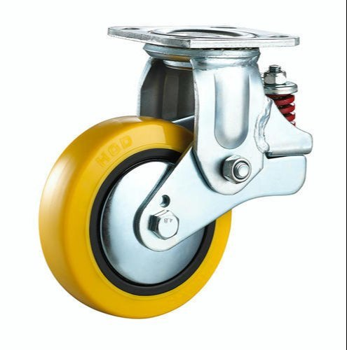 Spring Loaded Caster Wheel
