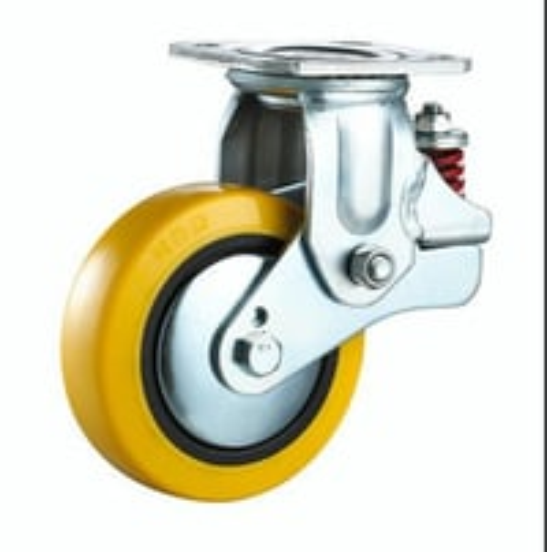 Spring Loaded Castor Wheel