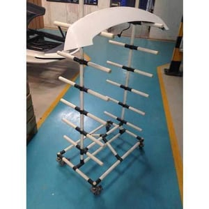 PVC Molding pipe trolley