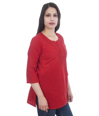 Lucknowi Chikan Short Top